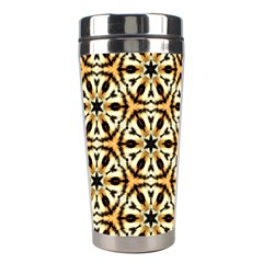 Faux Animal Print Pattern Stainless Steel Travel Tumblers