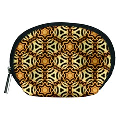 Faux Animal Print Pattern Accessory Pouches (Medium)
