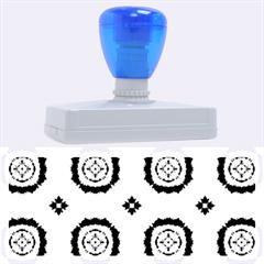 Faux Animal Print Pattern Rubber Address Stamps (xl)