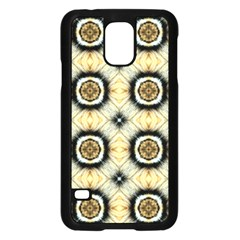 Faux Animal Print Pattern Samsung Galaxy S5 Case (black)