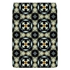 Faux Animal Print Pattern Flap Covers (l)
