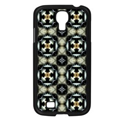 Faux Animal Print Pattern Samsung Galaxy S4 I9500/ I9505 Case (black)