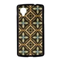 Faux Animal Print Pattern Nexus 5 Case (Black)