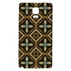 Faux Animal Print Pattern Galaxy Note 4 Back Case