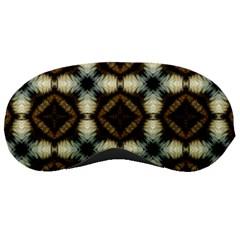 Faux Animal Print Pattern Sleeping Masks