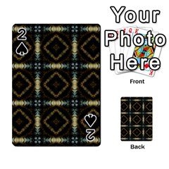 Faux Animal Print Pattern Playing Cards 54 Designs