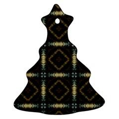 Faux Animal Print Pattern Ornament (Christmas Tree)