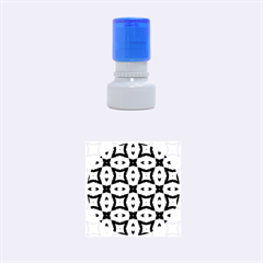 Faux Animal Print Pattern Rubber Round Stamps (small)