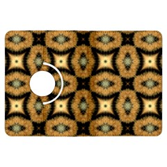 Faux Animal Print Pattern Kindle Fire HDX Flip 360 Case