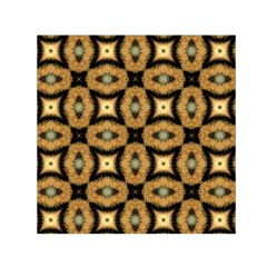 Faux Animal Print Pattern Small Satin Scarf (square)