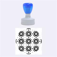 Faux Animal Print Pattern Rubber Round Stamps (Medium)