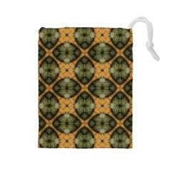 Faux Animal Print Pattern Drawstring Pouches (Large)