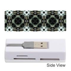 Faux Animal Print Pattern Memory Card Reader (Stick)