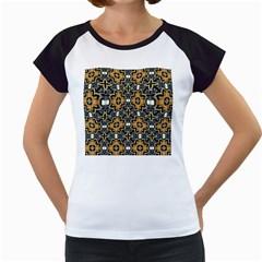 Faux Animal Print Pattern Women s Cap Sleeve T