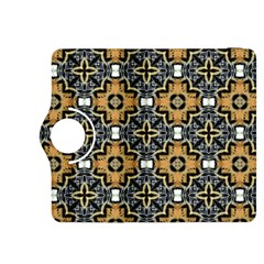 Faux Animal Print Pattern Kindle Fire Hdx 8 9  Flip 360 Case