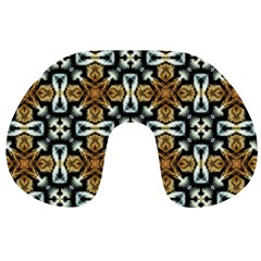 Faux Animal Print Pattern Travel Neck Pillows