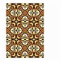 Faux Animal Print Pattern Small Garden Flag (two Sides)