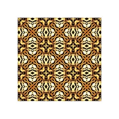 Faux Animal Print Pattern Acrylic Tangram Puzzle (4  x 4 )