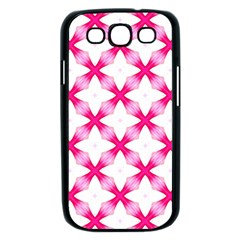 Cute Pretty Elegant Pattern Samsung Galaxy S III Case (Black)