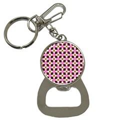 Cute Pretty Elegant Pattern Bottle Opener Key Chains