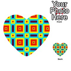 Cute Pretty Elegant Pattern Multi-purpose Cards (Heart)