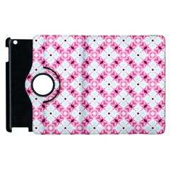 Cute Pretty Elegant Pattern Apple Ipad 2 Flip 360 Case