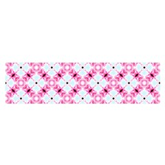 Cute Pretty Elegant Pattern Satin Scarf (Oblong)