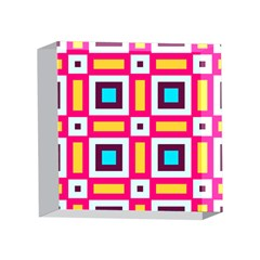 Cute Pretty Elegant Pattern 4 x 4  Acrylic Photo Blocks