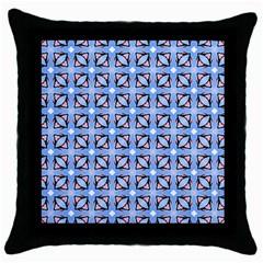 Cute Pretty Elegant Pattern Throw Pillow Cases (black)