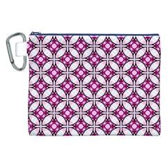 Cute Pretty Elegant Pattern Canvas Cosmetic Bag (XXL)