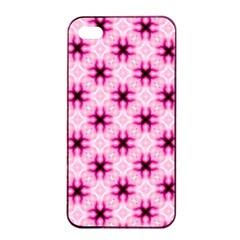 Cute Pretty Elegant Pattern Apple iPhone 4/4s Seamless Case (Black)