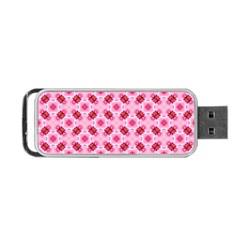 Cute Pretty Elegant Pattern Portable USB Flash (One Side)