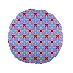 Cute Pretty Elegant Pattern Standard 15  Premium Flano Round Cushions