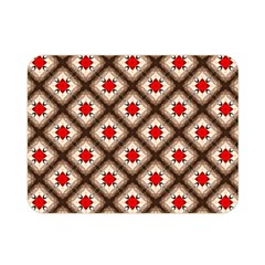 Cute Pretty Elegant Pattern Double Sided Flano Blanket (Mini)