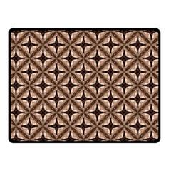 Cute Pretty Elegant Pattern Double Sided Fleece Blanket (Small)