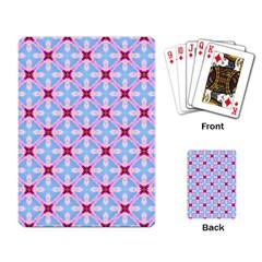 Cute Pretty Elegant Pattern Playing Card