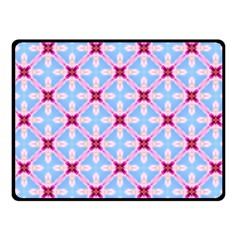 Cute Pretty Elegant Pattern Fleece Blanket (small)