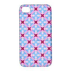 Cute Pretty Elegant Pattern Apple Iphone 4/4s Hardshell Case With Stand