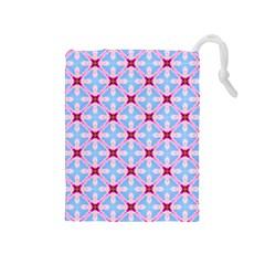 Cute Pretty Elegant Pattern Drawstring Pouches (Medium)