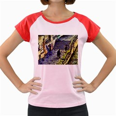 Banks Of The Seine KPA Women s Cap Sleeve T-Shirt