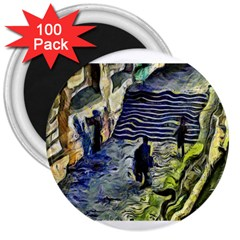 Banks Of The Seine Kpa 3  Magnets (100 Pack)