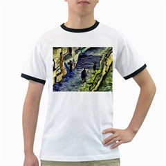 Banks Of The Seine KPA Ringer T-Shirts