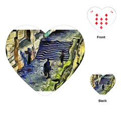 Banks Of The Seine Kpa Playing Cards (heart)