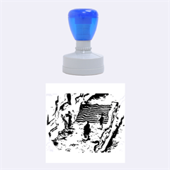 Banks Of The Seine Kpa Rubber Round Stamps (medium)