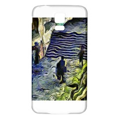 Banks Of The Seine KPA Samsung Galaxy S5 Back Case (White)