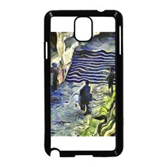 Banks Of The Seine Kpa Samsung Galaxy Note 3 Neo Hardshell Case (black)