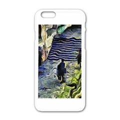 Banks Of The Seine KPA Apple iPhone 6 White Enamel Case