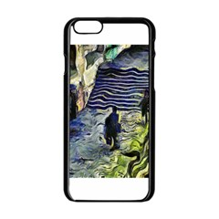 Banks Of The Seine Kpa Apple Iphone 6 Black Enamel Case