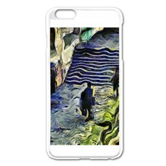 Banks Of The Seine KPA Apple iPhone 6 Plus Enamel White Case