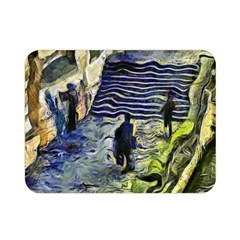 Banks Of The Seine KPA Double Sided Flano Blanket (Mini)